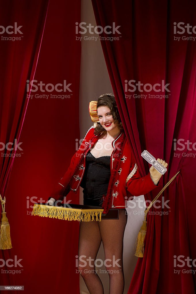get your tickets stock photo