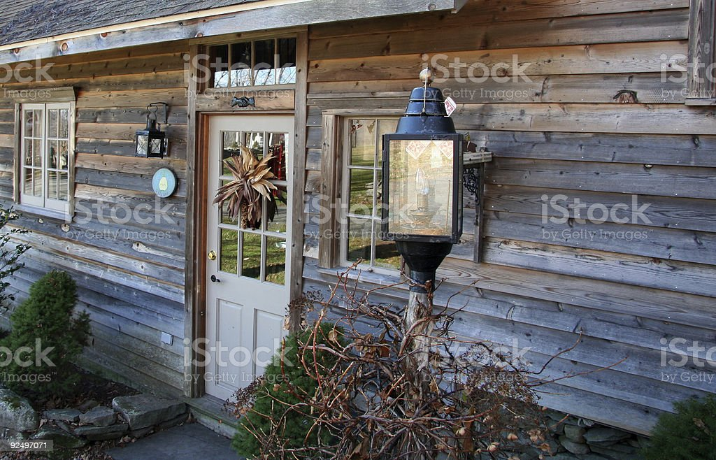 Getaway Cottage royalty-free stock photo