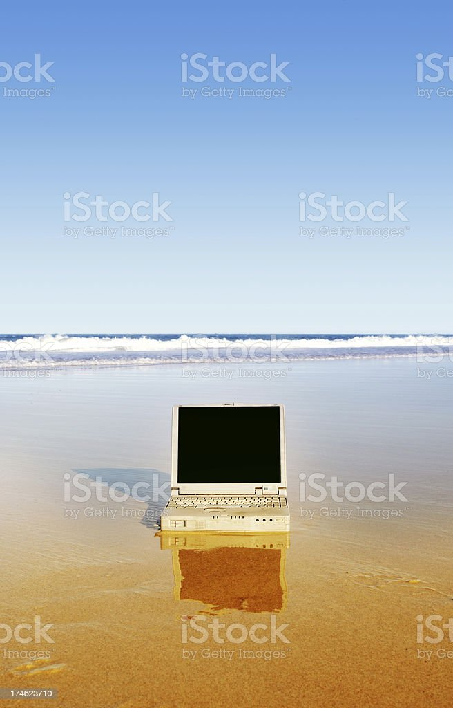 Getaway from the Office royalty-free stock photo