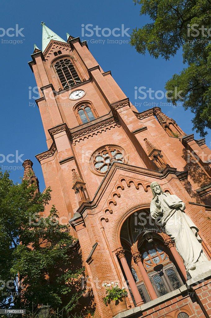 Gethsemane Church Berlin stock photo