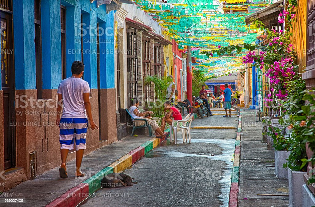 Getsemani Afternoon stock photo