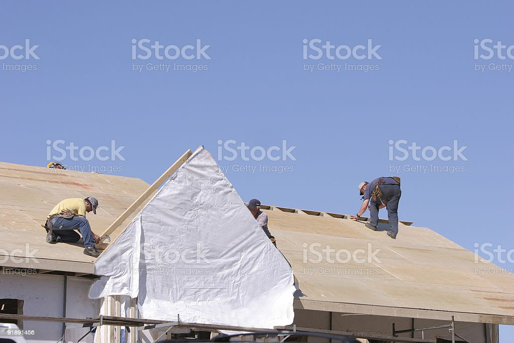 Getting a new home. royalty-free stock photo
