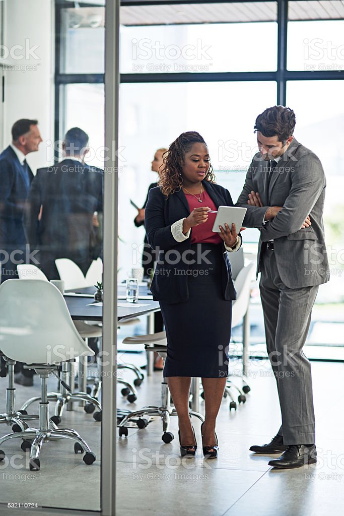 Getting a second opinion stock photo