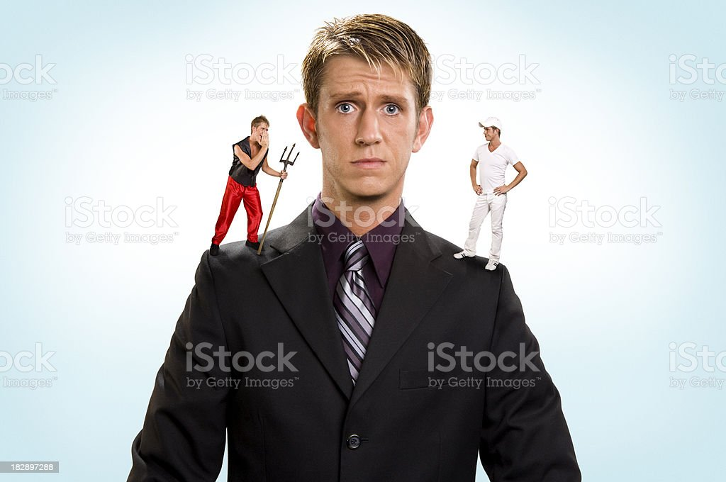 Getting Advice stock photo