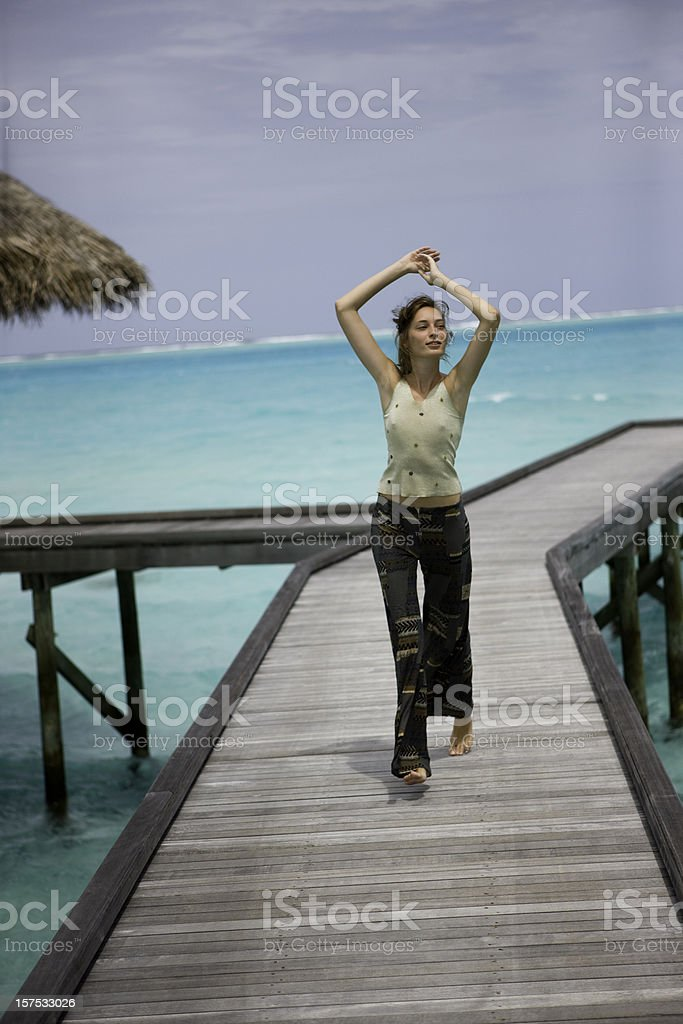 Getting away from it all royalty-free stock photo