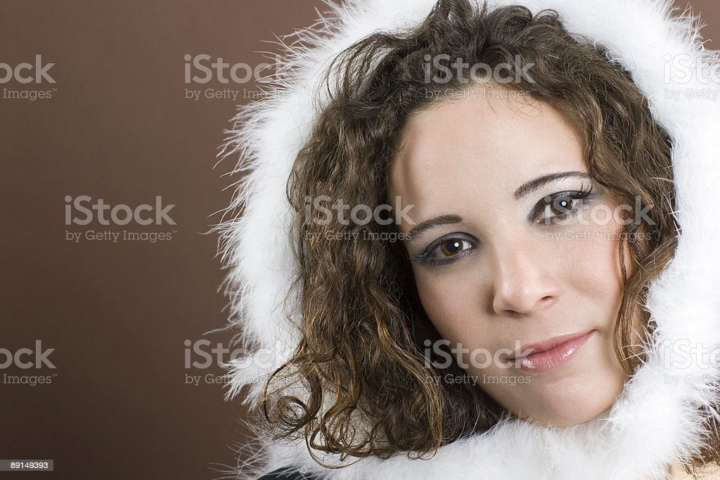 Getting cold royalty-free stock photo