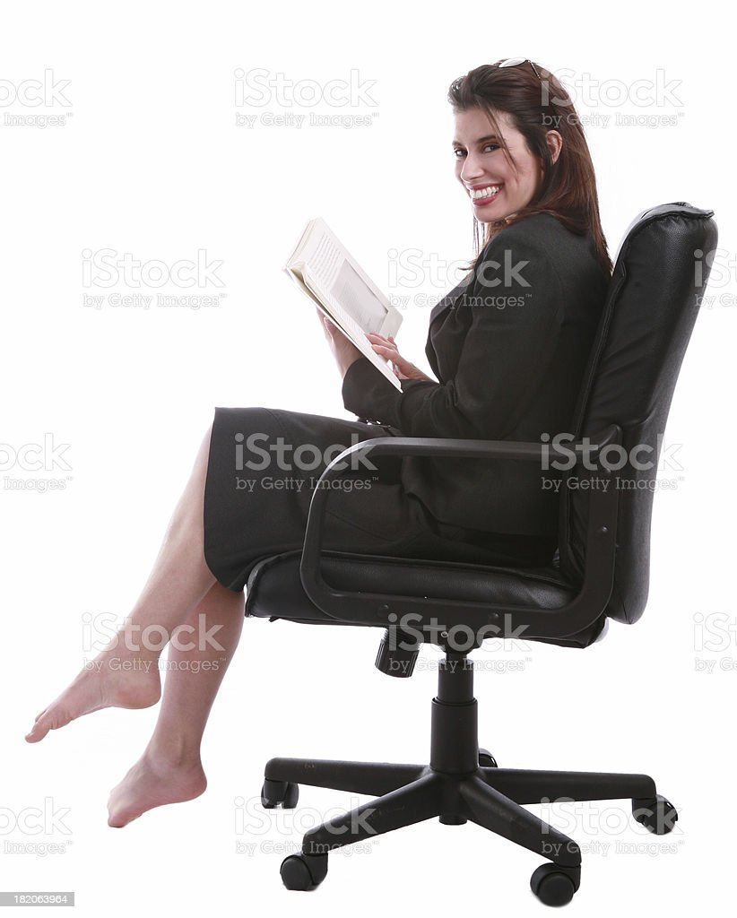 Getting Comfy royalty-free stock photo