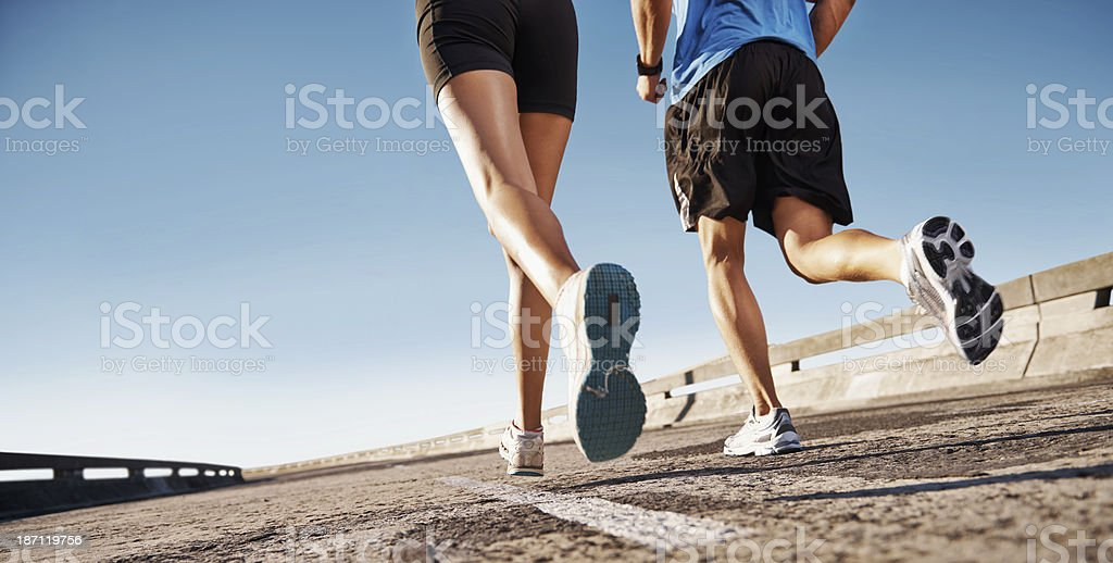 Getting fit for Summer stock photo