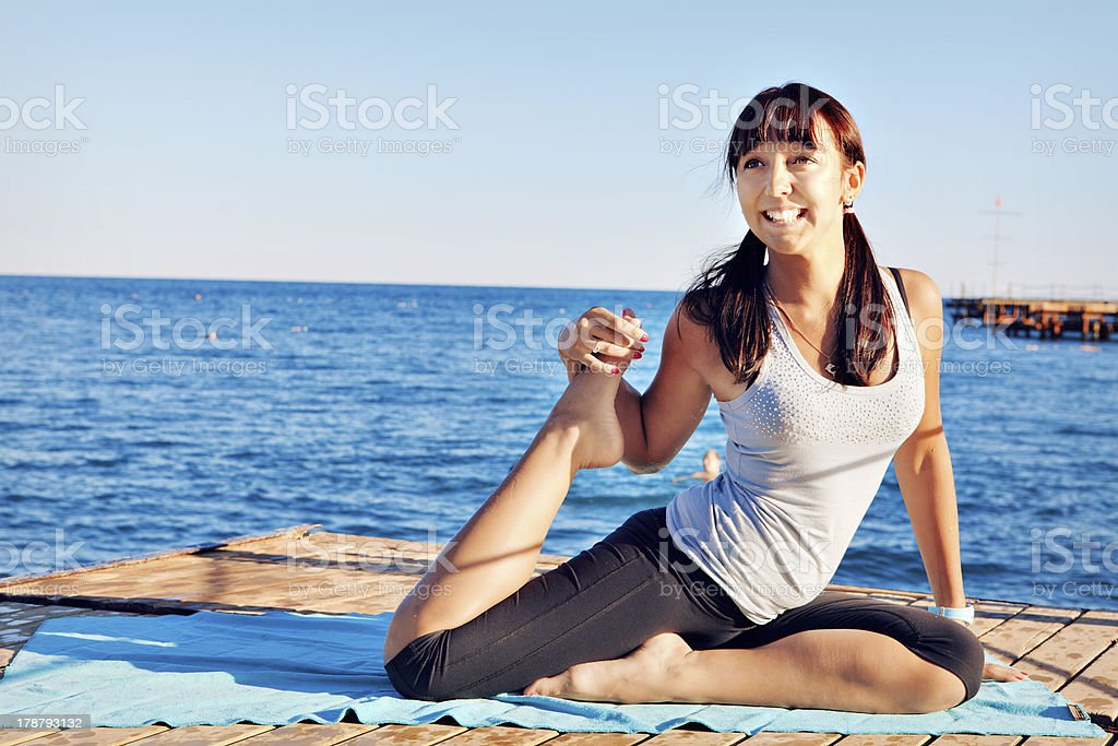 Getting Fit royalty-free stock photo