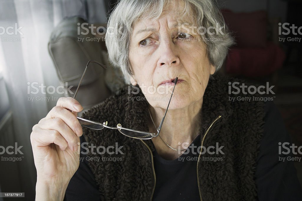 Getting Forgetful. royalty-free stock photo