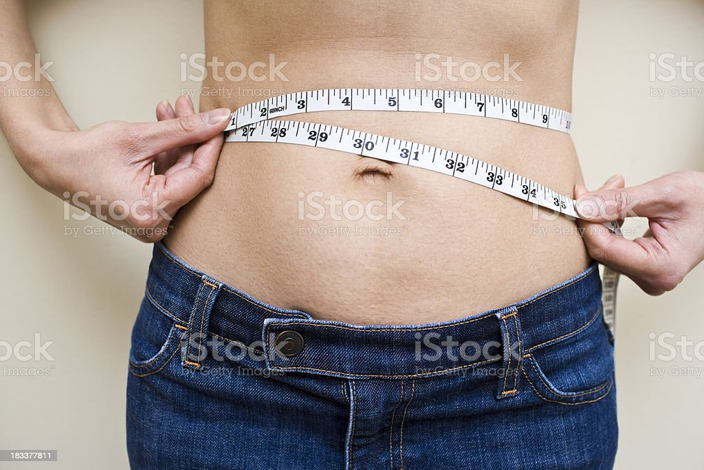 Getting in Shape royalty-free stock photo