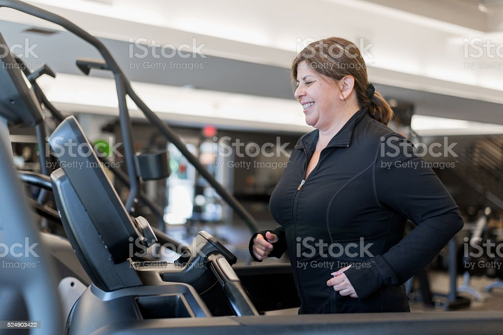 Getting in shape stock photo
