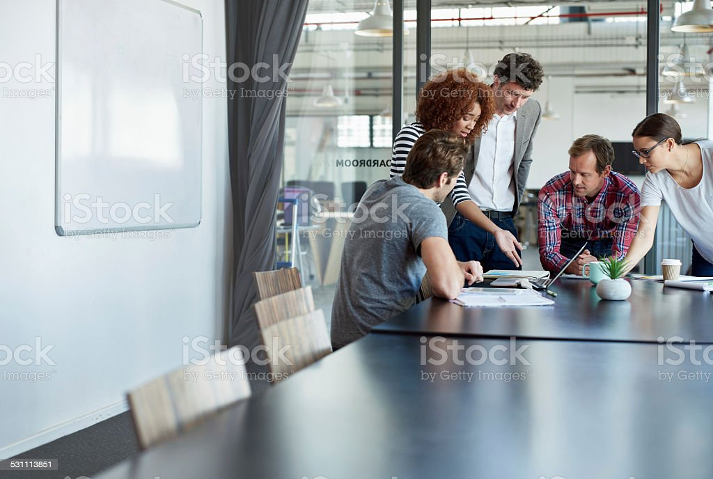 Getting into the nitty gritty stock photo
