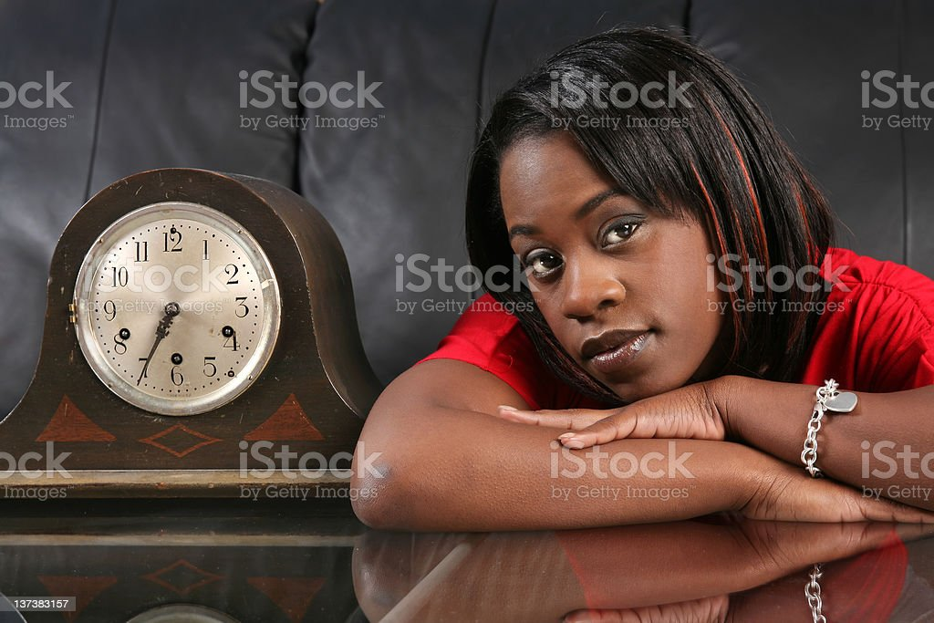 getting late royalty-free stock photo