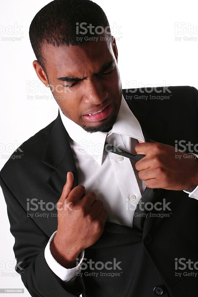 Getting Mad stock photo