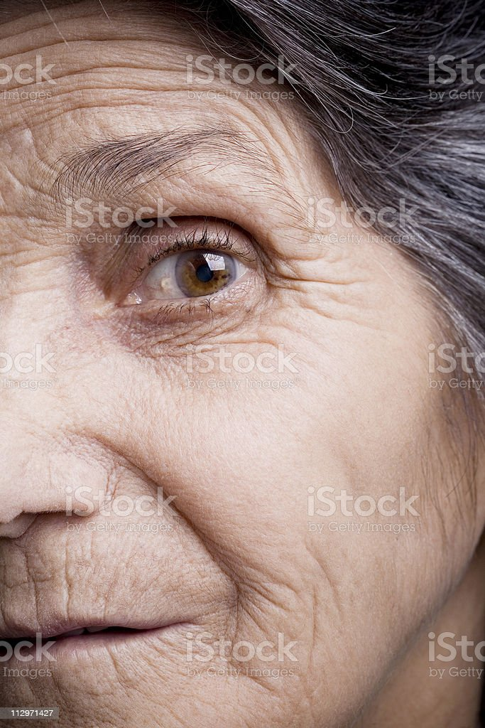 Getting older royalty-free stock photo