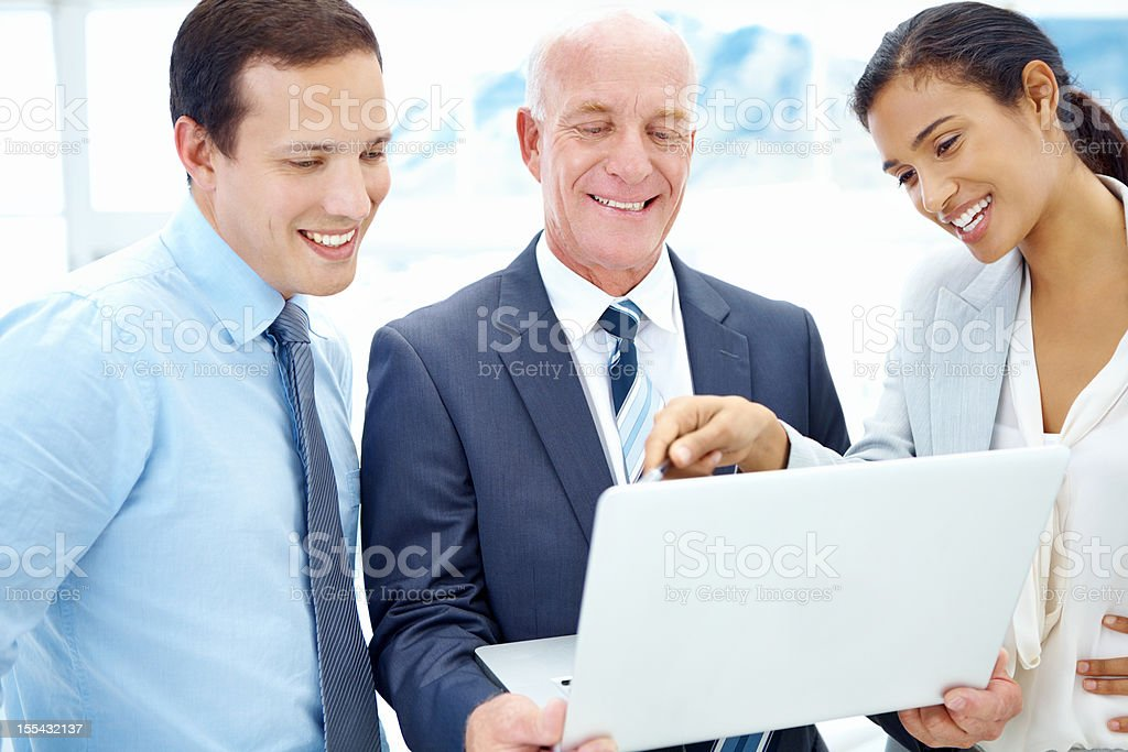 Getting our team on the same page - Business Strategies royalty-free stock photo