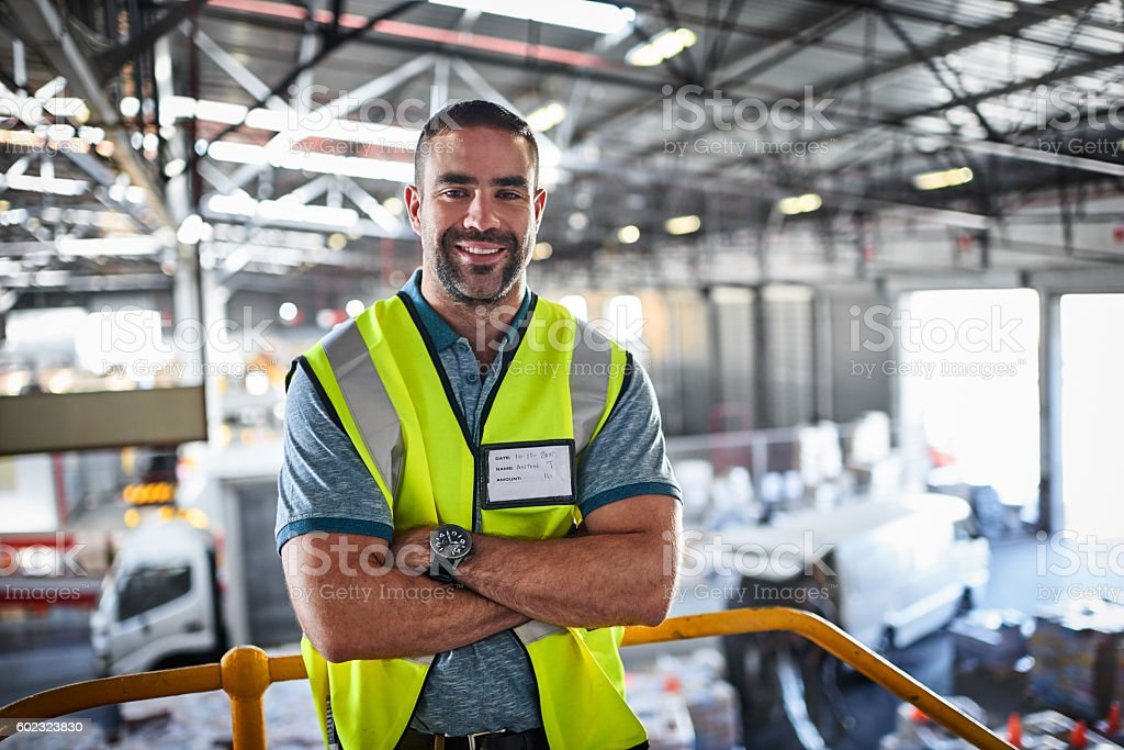 I getting packages moving stock photo