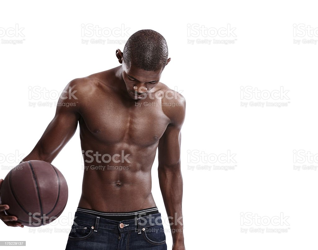 Getting psyched for the game! royalty-free stock photo