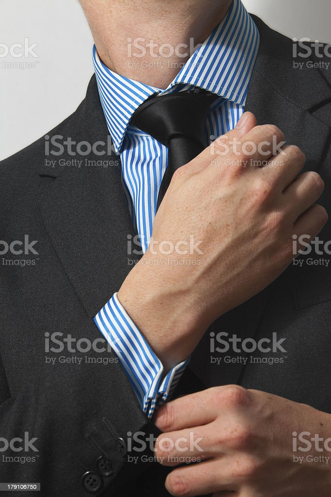 Getting Ready For Business royalty-free stock photo