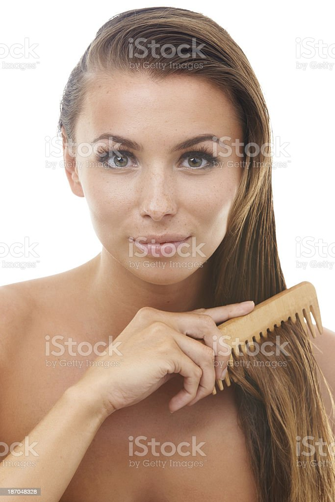 Getting ready for the day royalty-free stock photo