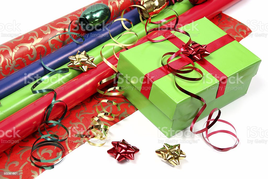 getting ready for the Holidays royalty-free stock photo