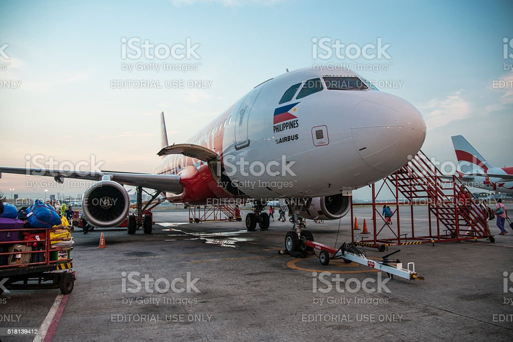 Getting ready fot take-off stock photo