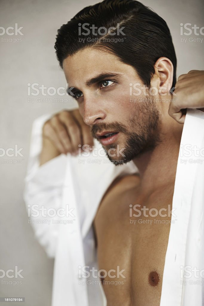 Getting ready to dominate the day royalty-free stock photo