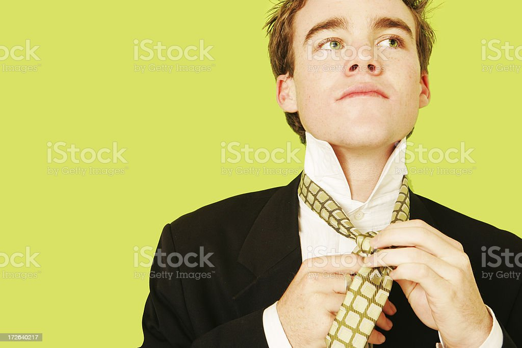 Getting Ready to Go royalty-free stock photo