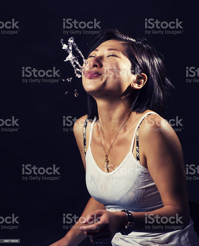 Getting rid of it stock photo