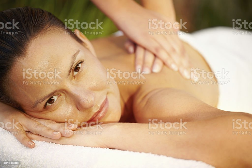 Getting rid of stress royalty-free stock photo