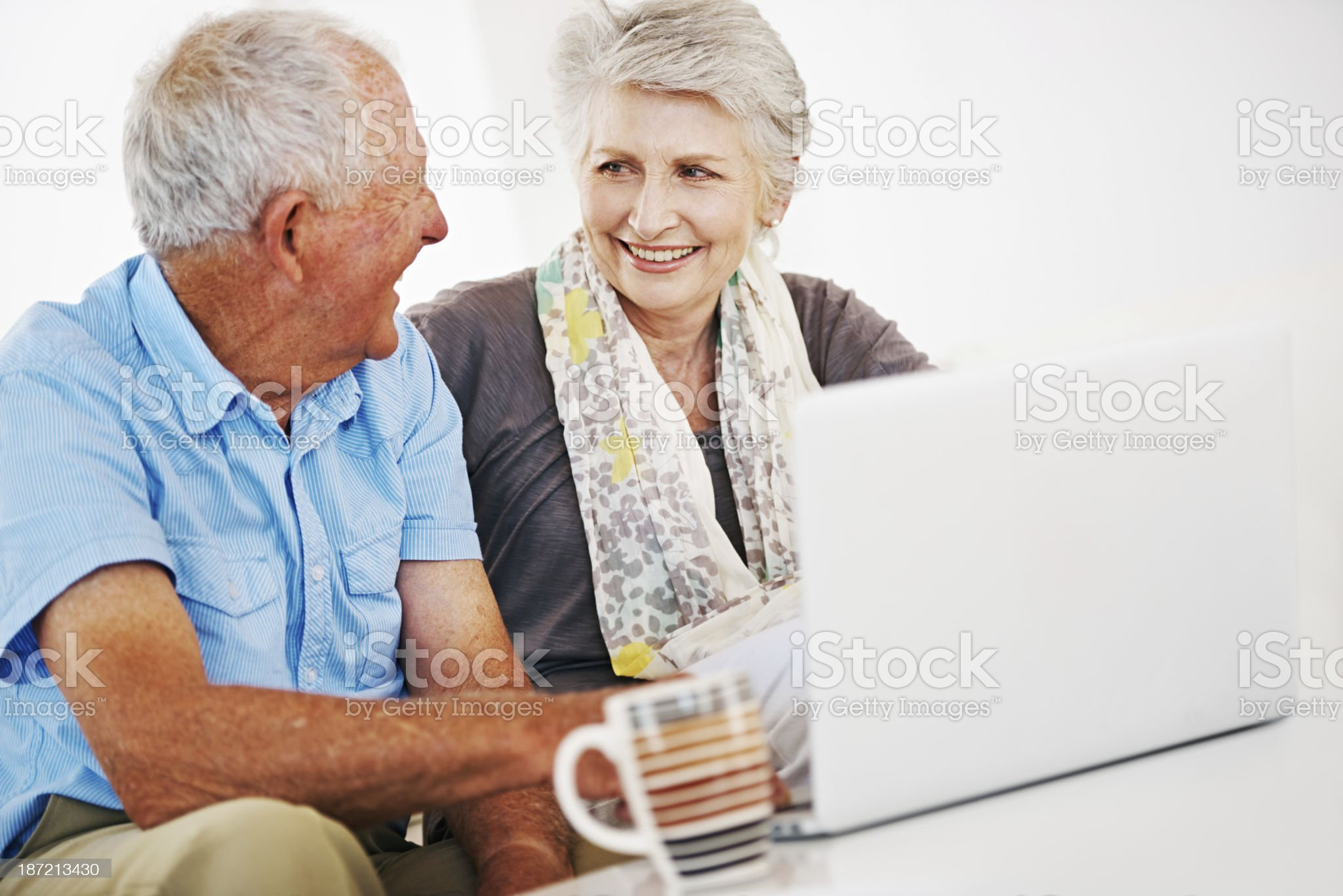 Getting their budget together royalty-free stock photo