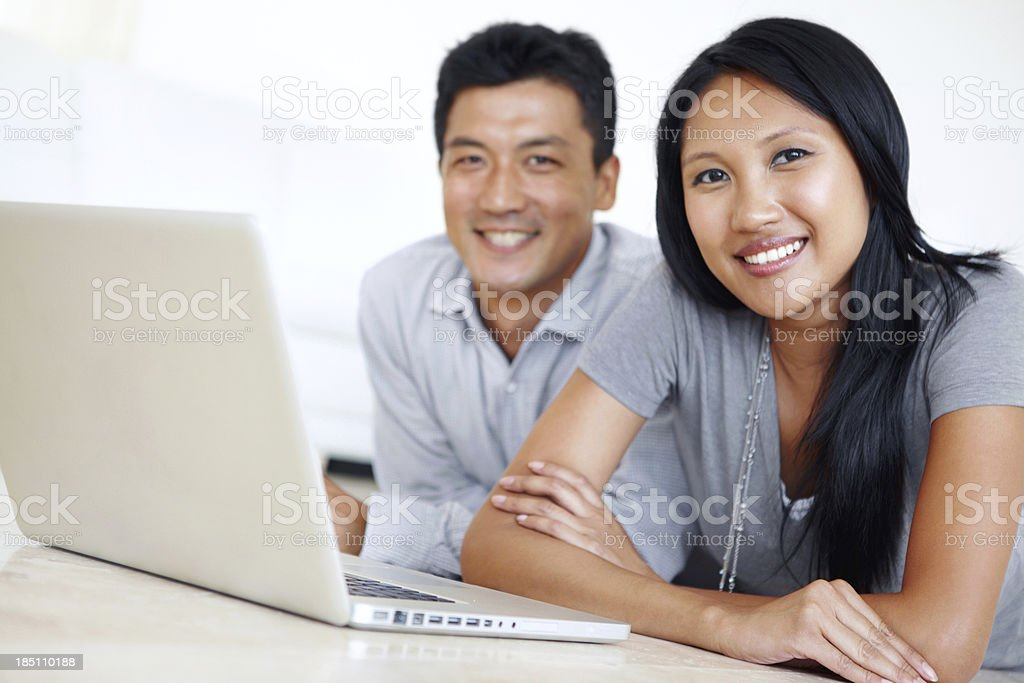 Getting things done, together stock photo