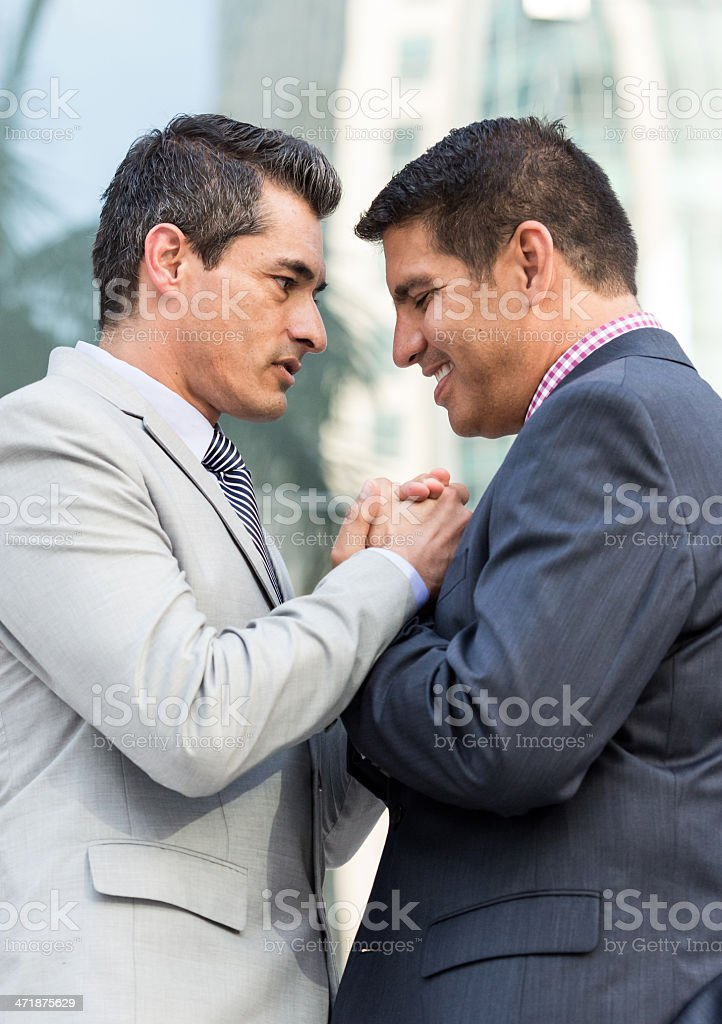 Getting together after work royalty-free stock photo
