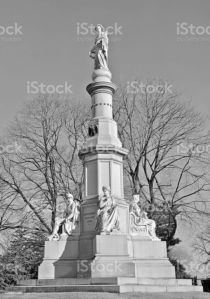 Gettysburg  adress. stock photo