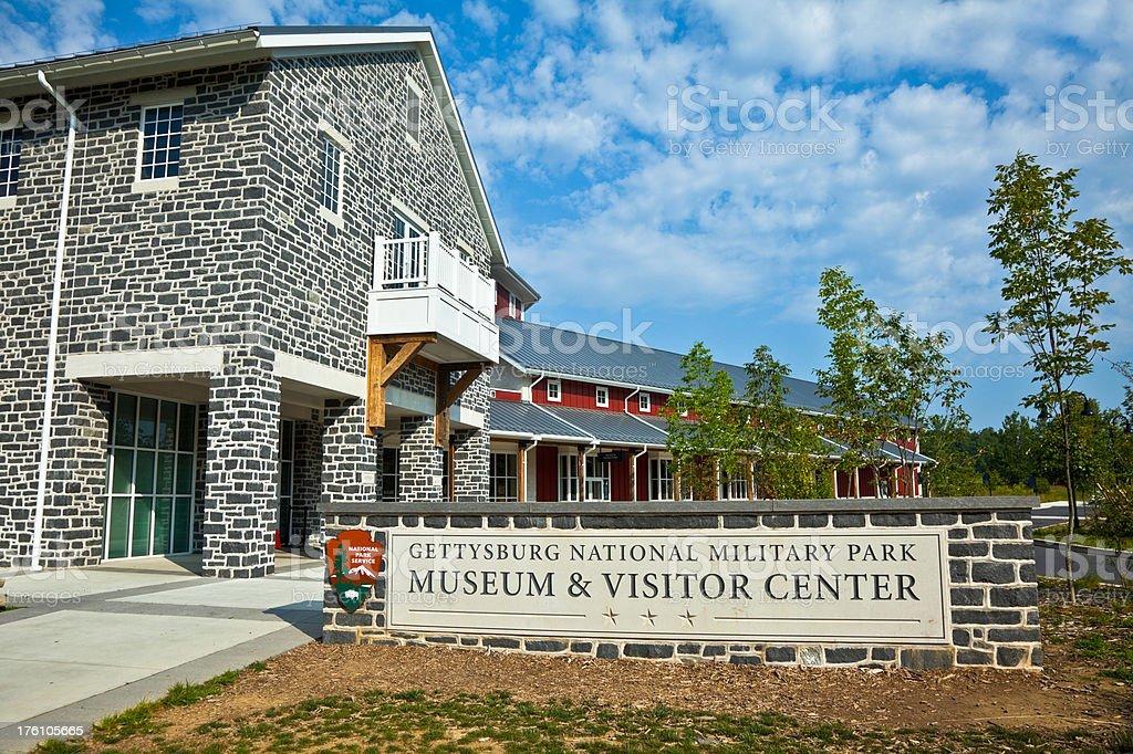 Gettysburg Battlefield Visitor Center royalty-free stock photo