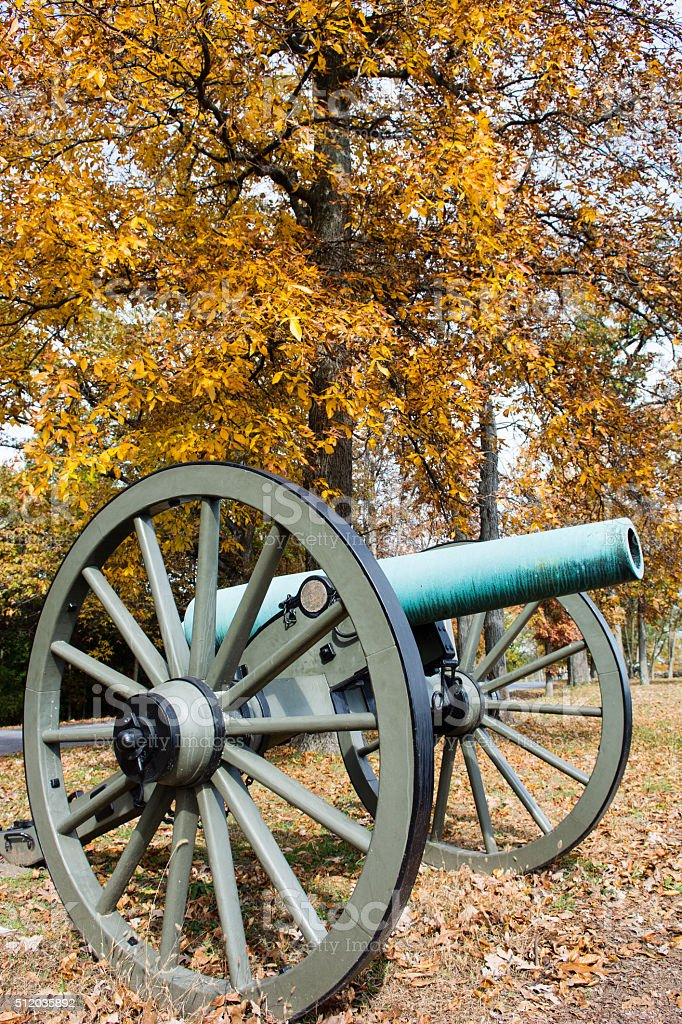 Gettysburg Cannon stock photo