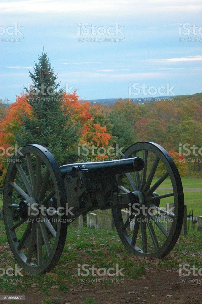 Gettysburg Cannon stock photo
