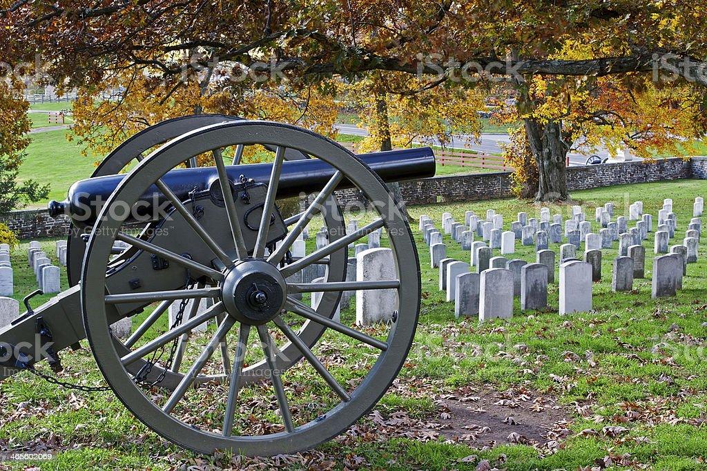 Gettysburg in Autumn stock photo