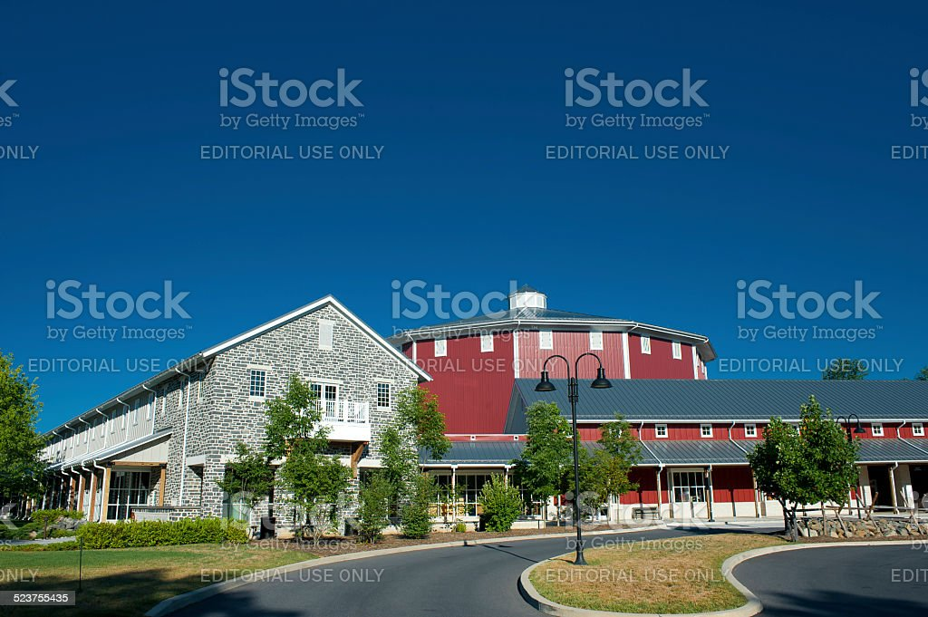 Gettysburg National Military Park Visitor Center stock photo