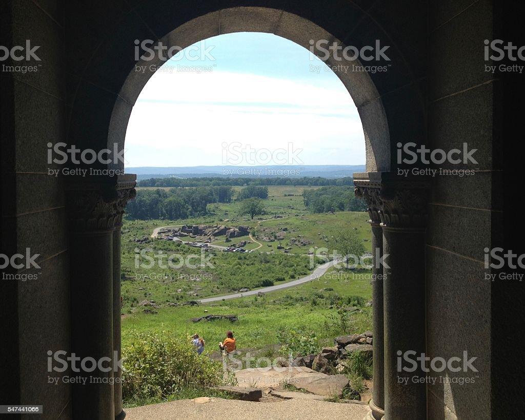 Gettysburg stock photo