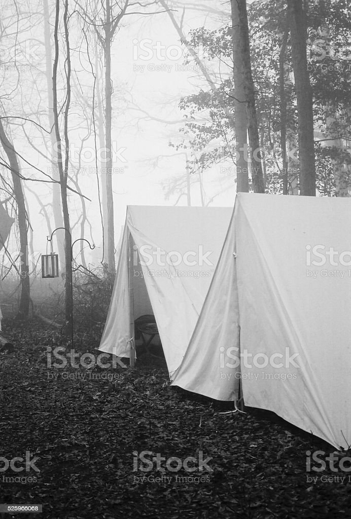Gettysburg Reenactment stock photo