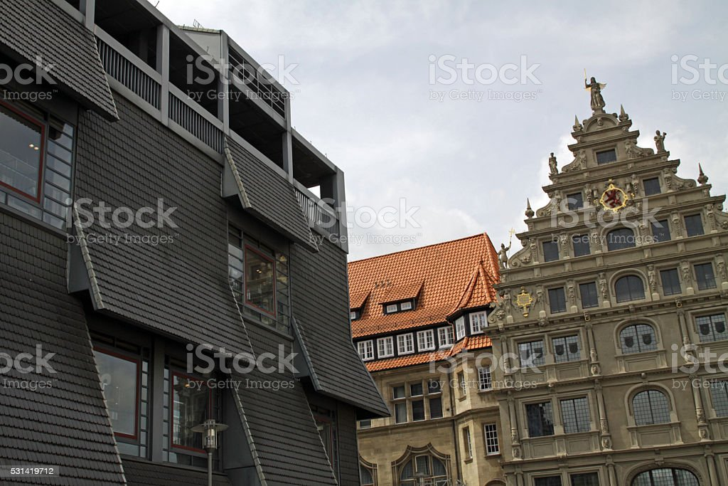 Gewandhaus Braunschweig stock photo