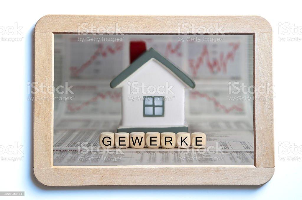 Gewerke stock photo