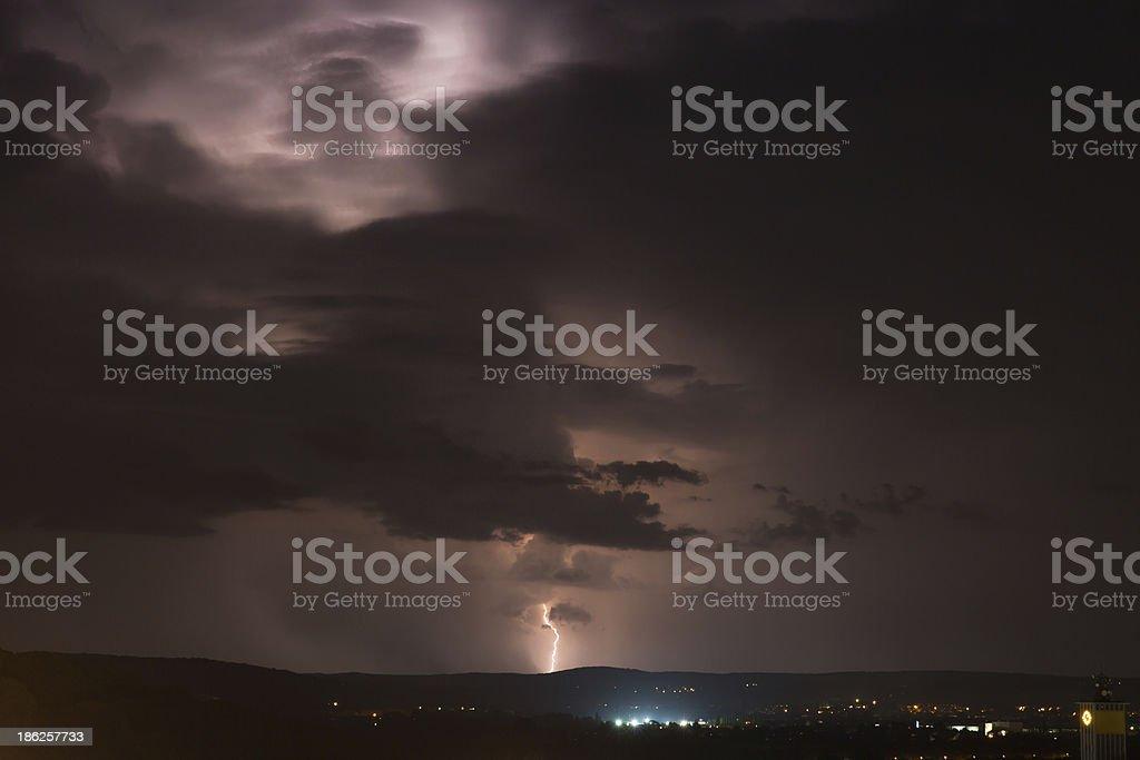 Gewitter stock photo