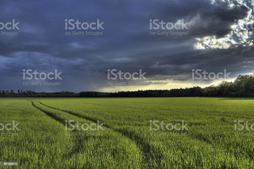 Gewitter Wolken royalty-free stock photo
