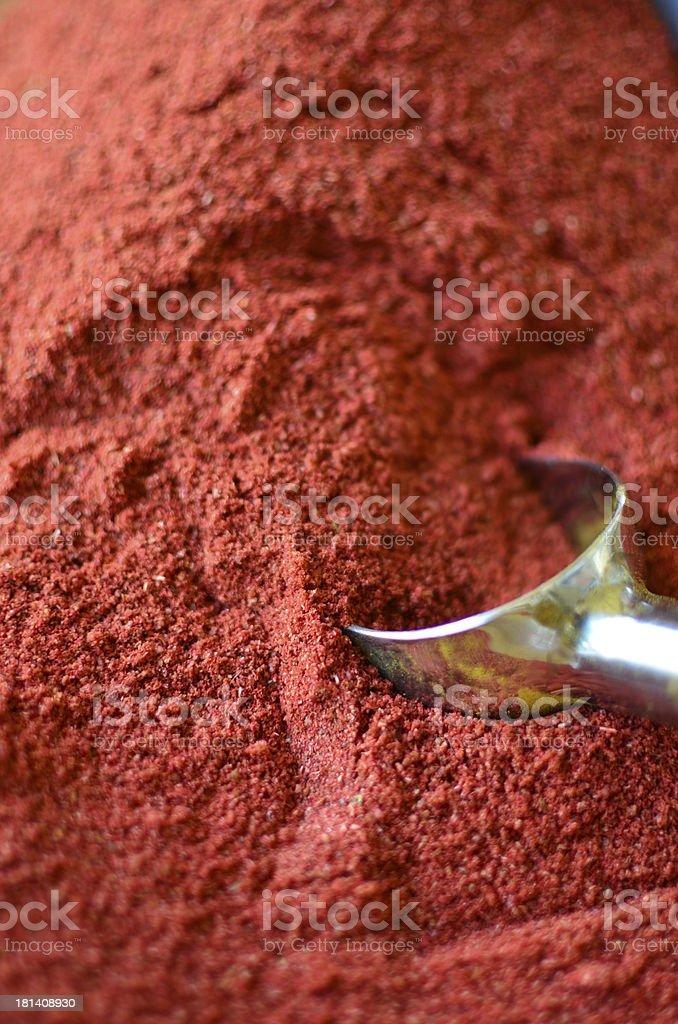 Gewürze rot (Chilli) royalty-free stock photo