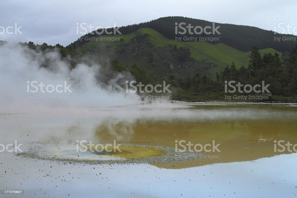Geyser valley royalty-free stock photo