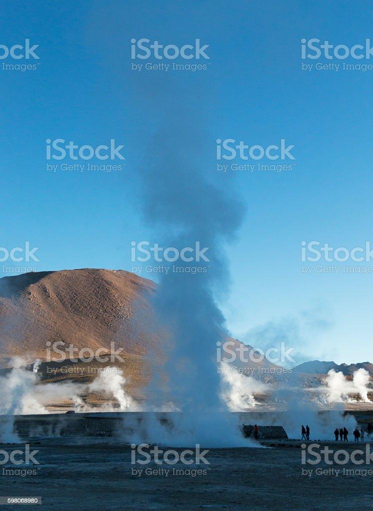 Geysers del Tatio, Chilean Andes, Atacama, Chile stock photo