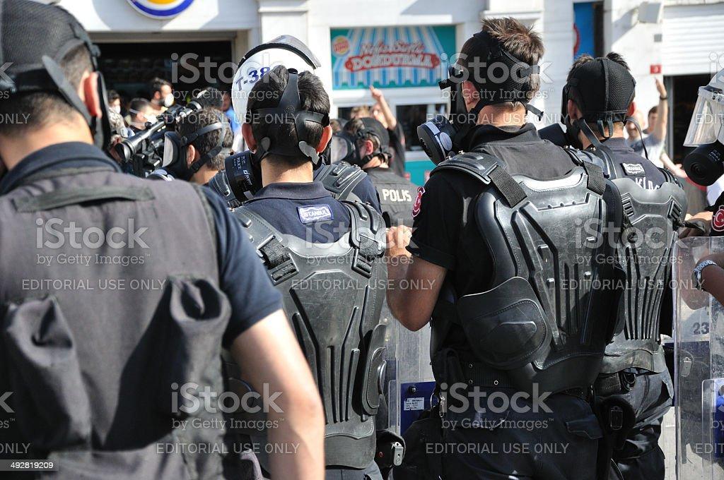 Gezi Park Protests, Istanbul stock photo